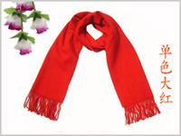 Wholesale 100 Fashionable men cashmere scarf Scarves women s SHAWL with tags and box mfsf58