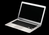 Wholesale 13 inch Ultra thi Mac Air Laptop notebook PC Dual Core intel N2800 Ghz G G SSD WIFI WEBCAM