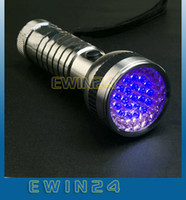 Wholesale 41 LED UV Ultra Violet Lamp Torch Flashlight for Camping Good Quality Low Price