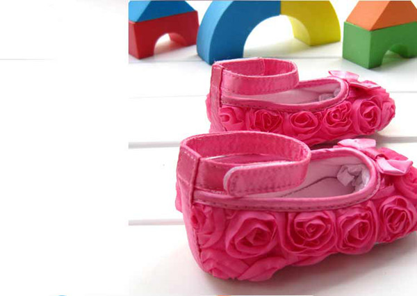 Baby Girl Pink Dress Shoes Baby Girl Flower Shoes