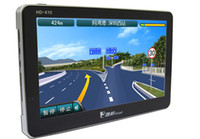 Wholesale New Car GPS Model inch HD GB Memory Free Maps Windows CE FM bluetooth ebook