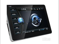 Wholesale free DHL Car GPS Navigation inch World Map FM Mp3 Mp4 G4GB Built in Bluetooth