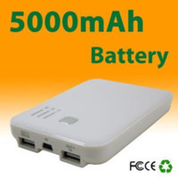 Wholesale 5000mA Portable Power Station for Mobile Phones Notebooks Digital Camera MP3 MP4 pc Freeshipping