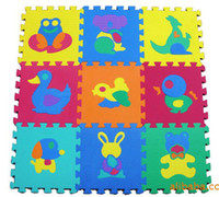 Wholesale children s mat animal EVA mat baby crawling mats game pad Puzzles baby waterproof A TB