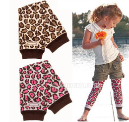 Wholesale Hot Cheap unisex Baby Toddler Baby leopard skin point legging warmers colors in stock for