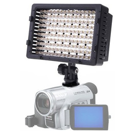 Meilleures lumières de led photo en Ligne-Chaud! Meilleures ventes! CN-160 caméra vidéo 160 LED caméra vidéo caméscope photo éclairage 5400K pour Canon Nikon