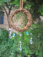 Wholesale hot sale native american indian style natural cane dream catcher