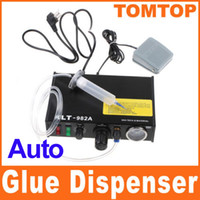 Wholesale DHL Solder Paste Glue Dropper Liquid Auto Dispenser Controller for SMD PCB H4951