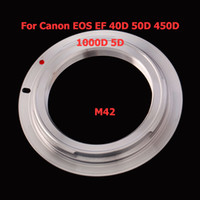 Wholesale M42 Lens To For Canon Mount Adapter Ring DTJ05SI