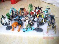 Wholesale Ben Alien Force action figure toys Set of