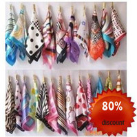 Wholesale small silk scarves scarf women s scarf kerchief women in silk scarf cm mix order ps