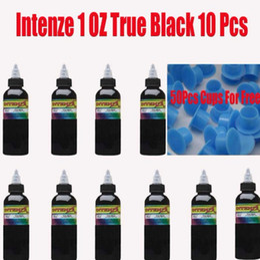 Wholesale of Bottles True Black OZ Tattoo Ink amp Ink Cups Sent For Free