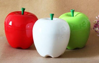 Wholesale Hot Novelty Apple Plastic Storage Box Practical Storage Box Cute Apple Figure Lovely Adornment