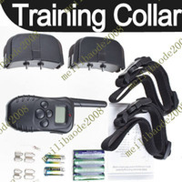 Wholesale 2pcs C10 vibration Dog Training Collar Belt clip Remote LCD Display