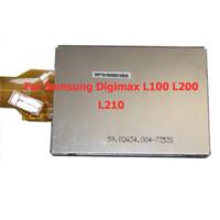 Wholesale Digital Camera LCD Screen Display For Samsung Digimax L100 L200 L210 D9P02
