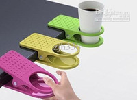 Wholesale Pieces Plastic Office Tea Drink Cup Holder Cup Stand Cup Clip