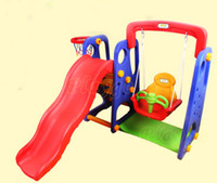 Wholesale Toddler slide small plastic slide indoor slide garden slide