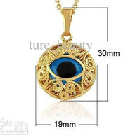 Wholesale Stylish popular Allah eye pendant gold Mosaic glass stone eye pendant T01