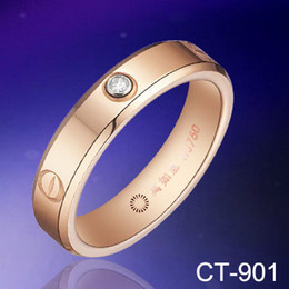 Engagement Tungsten Ring Diamond Wedding Rings CT-0.03 Rose Gold Plated Rings Mens fashion Rings