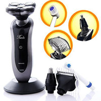Wholesale 5 Heads in Rechargeable Washable Men electric Shaver Razor