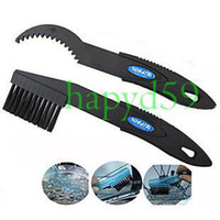 Wholesale free ship mountain bike bicycle flywheel chain cleaner brush tool flywheel cleaning tool tooth disc brush