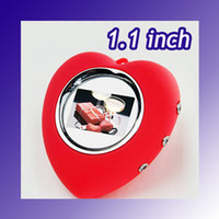 Wholesale promotion inch Digital Photo Frame with Keychain Heart Shape MB pictures