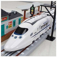 Wholesale Hot Speed CRH Train Electric Trains Harmony RC Trains With Track Electric Toy Children s Toys