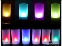 Wholesale 200pcs Led candle light Voice activated Candles Lights Voice control of Candles gift gf