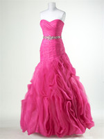 Ball Gown Vintage Beads 2012 new arrival beaded belt organza aqua pink evening dresses prom gown party dress gown LP277