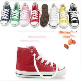 Wholesale Children s Canvas Shoes new Girls Boys Canvas shoes athletic Shoes antiskid shoes HBMK006