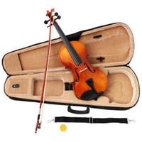 Wholesale CHINESE VIOLIN FIDDLE FULL SIZE W CASE BOW