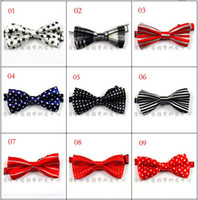 Wholesale 29 color cute child bow ties yzs168 nice kids bowties pieces