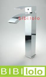 Wholesale Bathroom tall faucet sink basin mixer tap L8318