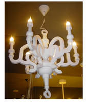 Wholesale Holland Pendant lamp Moooi Paper Chandelier Wood Ceiling lamp designed by Studio Job dining room