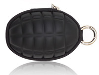 Novelty Grenade Shape coin wallet key purse