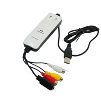 Wholesale AV VHS TV to DVD USB Capture Cable Card S Video Grabber