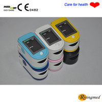 Wholesale CE proved LED Fingertip Pulse Oximeter Spo2 Monitor Health moniter Body care product