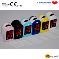Wholesale Worldwide CE proved LED Fingertip Pulse Oximeter Spo2 Monitor c medical care product
