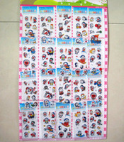 Wholesale 1000pcs Cardboard Sheet Mixed Doraemon Stickers kids party decorations Stickers Party Favors