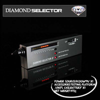 Wholesale V2 Diamond Tester Gemstone Selector Jewelry Watcher Tool LED Audio NEW