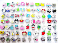 Wholesale 100pcs mm Mixed style Slide Charms Fit Pet Collar DIY Necklace amp Bracelets