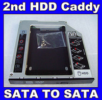 Wholesale SATA nd Hard Disk Drive Caddy HDD SSD Caddy For Fujitsu LIFEBOOK AH531 AH531A AH531B i5 i7 laptop