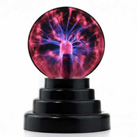 Wholesale Plasma Ball Light Lightning Sphere Party USB Operated for chrismal gift