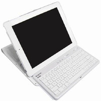 Wholesale 10pcs Plastic Bluetooth Keyboard with ABS Case for iPad