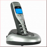Wholesale VoIP Handfree Handset USB Phone for Skype PC GHz Cordless Wireless M with Large graphic LCD