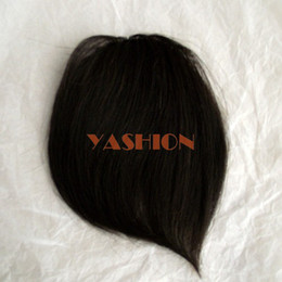 Wholesale HA01 Human Hair Bang Hair Fringe Clip In On Hair Bangs Fringe g piece MOQ