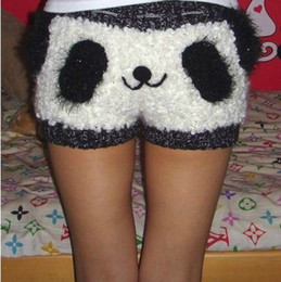 Wholesale Handmade DIY Panda short pants hot trousers cute animal style custom order for gift free delivery