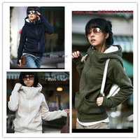 Women Middle_Length Cotton Stylish Womens Autumn Hoodies Leopard Sweatshirt Top Outerwear Parka Coats 3colors