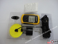 Wholesale classic Portable Sonar LCD Fish Finder Fishfinder Alarm M Portable Fish Finder with Alarm