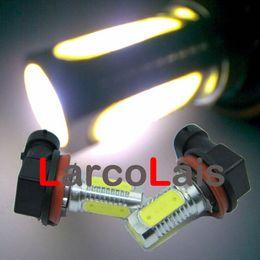 BEST QUAULITY White 2 x H8 6W LED Car Fog Light Ultra Bright Headlight Bulb Light Lamp 12V DC
